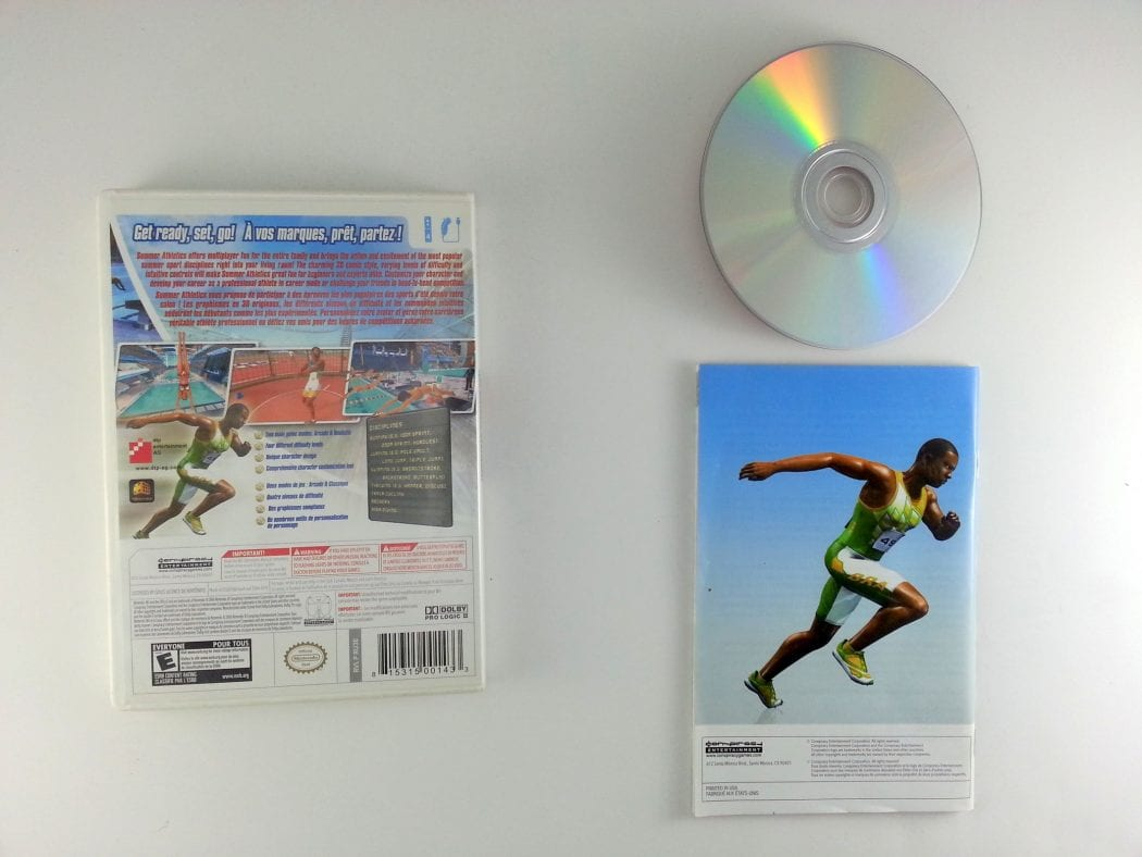 Summer Athletics The Ultimate Challenge game for Wii (Complete)   The Game Guy