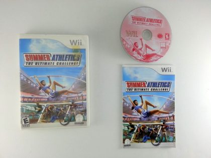 Summer Athletics The Ultimate Challenge game for Nintendo Wii -Complete