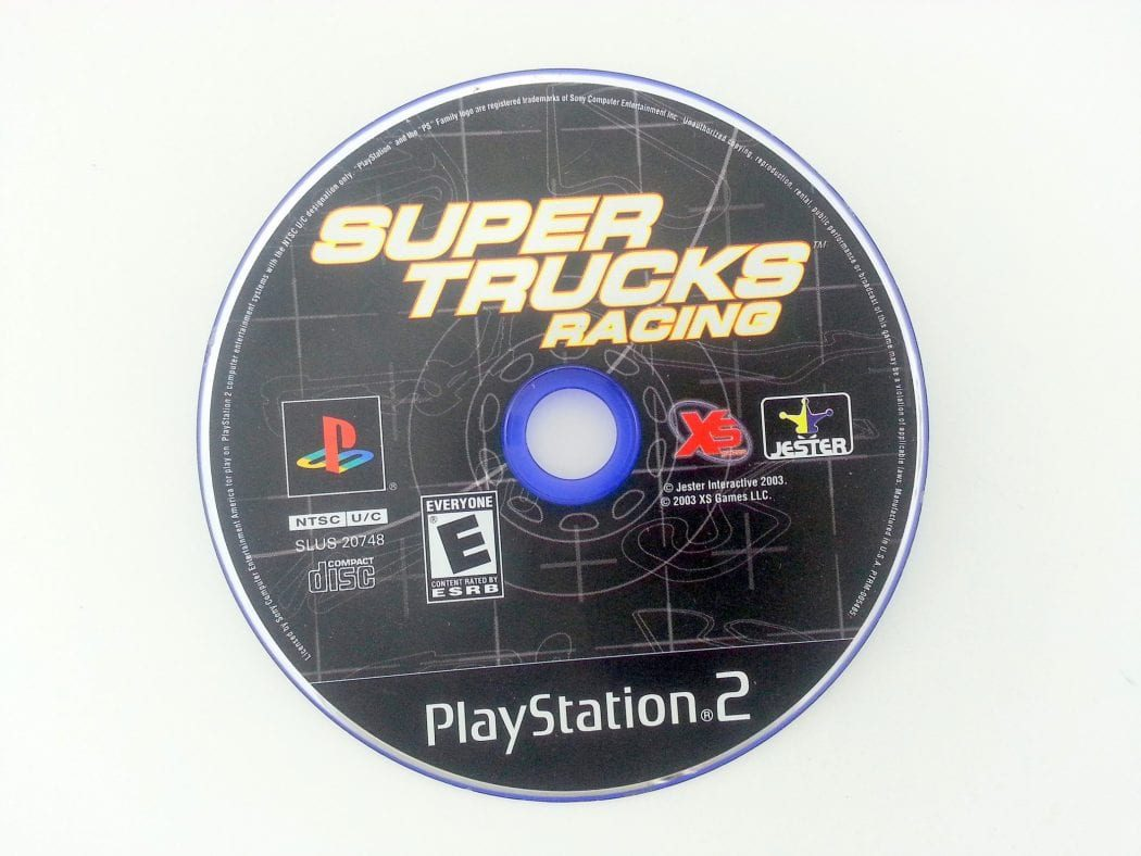 Super Trucks Racing game for Sony Playstation 2 PS2 - Loose