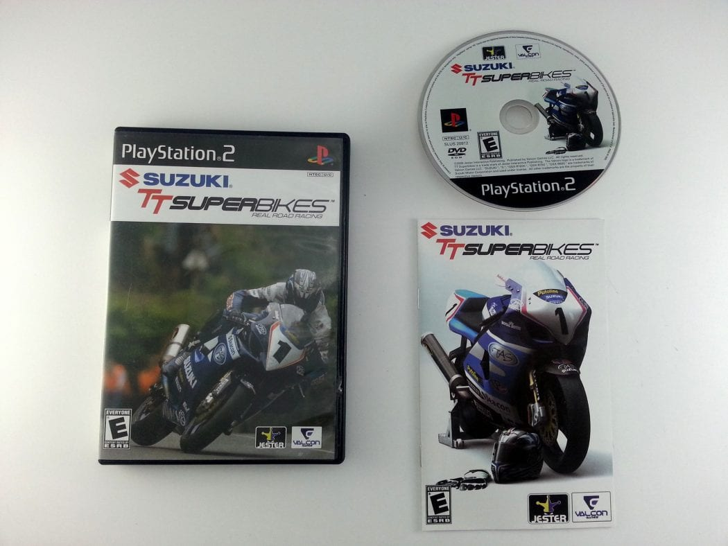 Suzuki TT Superbikes game for Sony Playstation 2 PS2 -Complete
