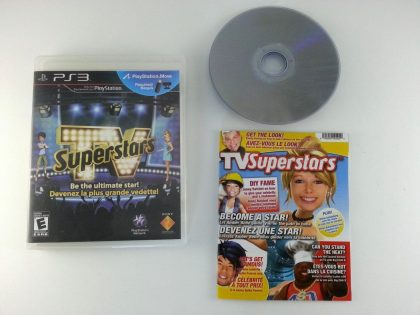 TV SuperStars game for Playstation 3 (Complete) | The Game Guy