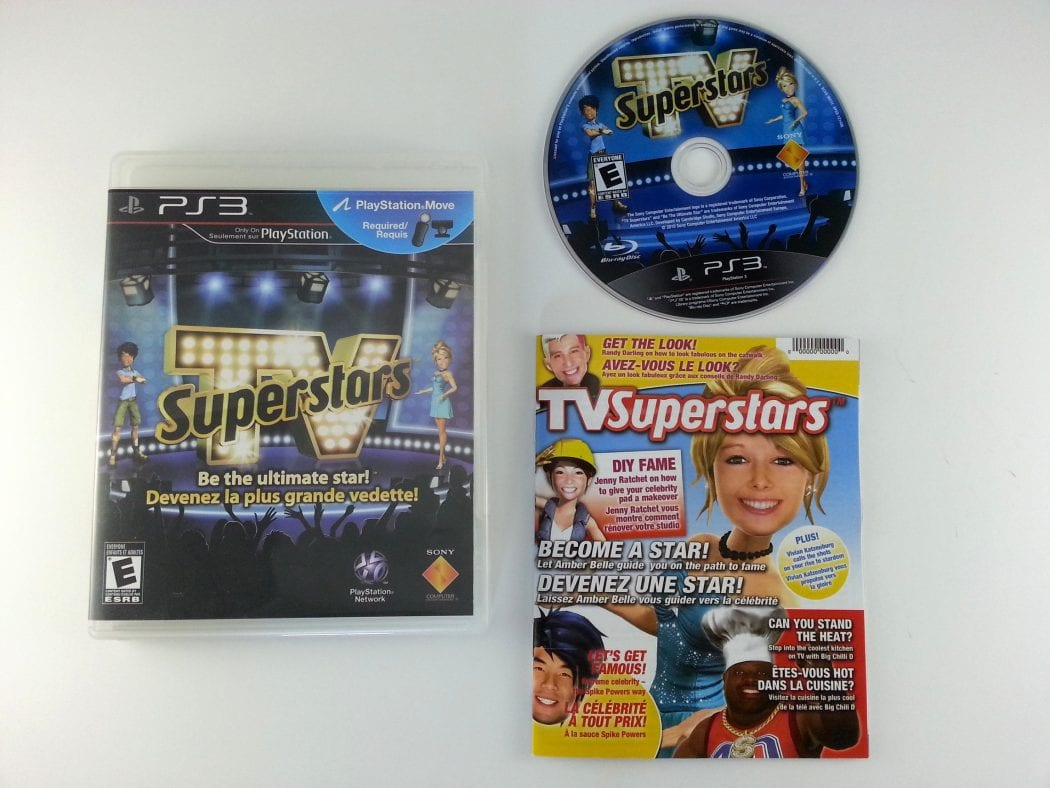 TV SuperStars game for Sony Playstation 3 PS3 -Complete