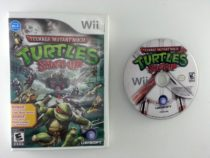 Teenage Mutant Ninja Turtles: Smash-Up game for Nintendo Wii -Game & Case