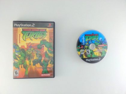 Teenage Mutant Ninja Turtles game for Sony Playstation 2 PS2 -Game & Case