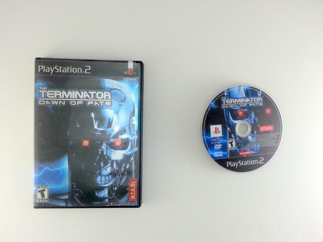 Terminator Dawn of Fate game for Sony Playstation 2 PS2 -Game & Case