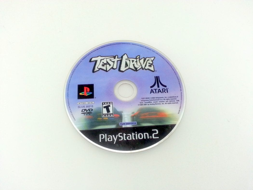Test Drive game for Sony Playstation 2 PS2 - Loose