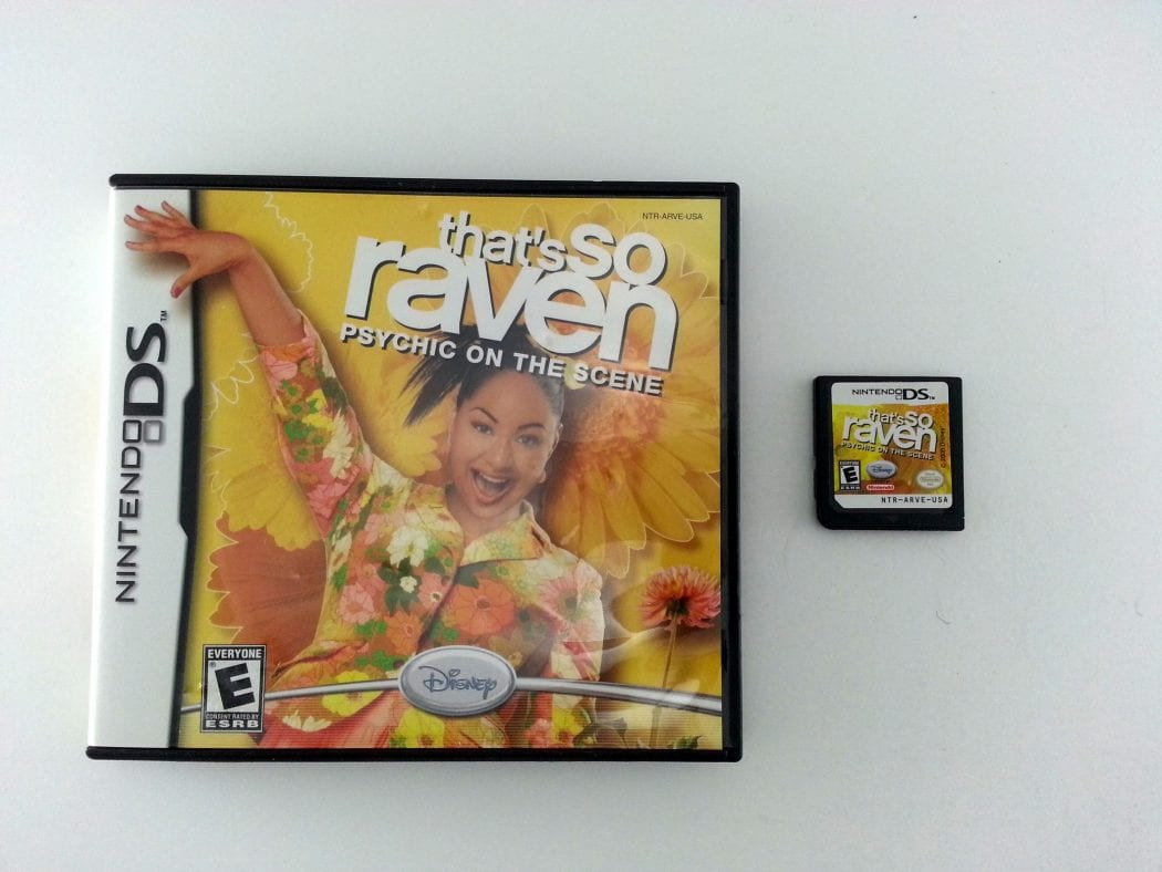 That's So Raven Psychic on Scene game for Nintendo DS -Game & Case