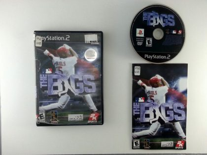 The Bigs game for Sony Playstation 2 PS2 -Complete