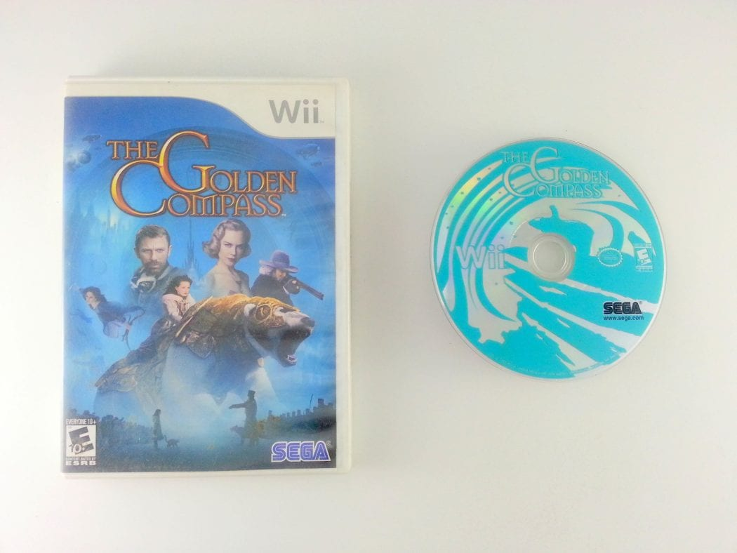 The Golden Compass game for Nintendo Wii -Game & Case