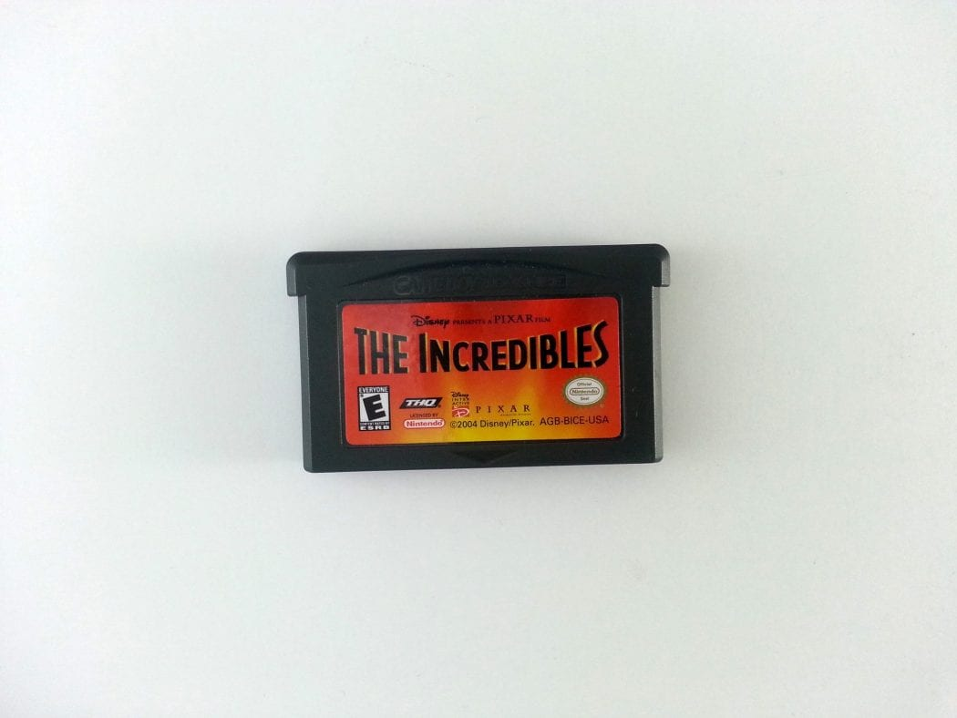 The Incredibles game for Nintendo Gameboy Advance - Loose