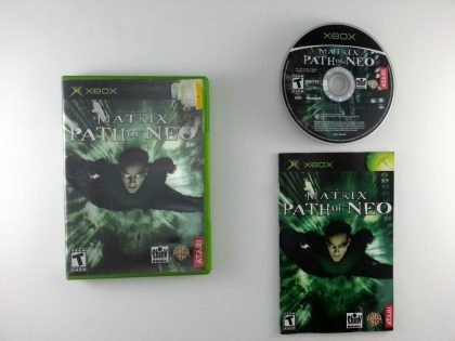 The Matrix Path of Neo game for Microsoft Xbox -Complete