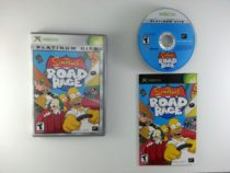 The Simpsons Road Rage game for Microsoft Xbox -Complete