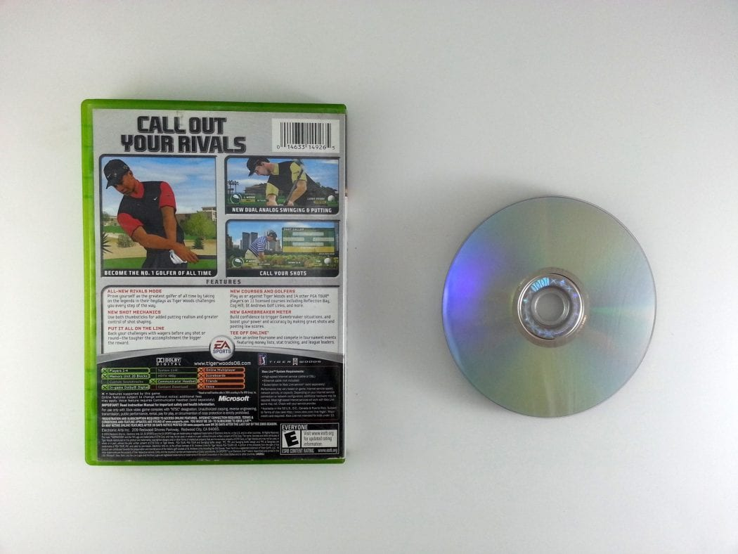 Tiger Woods 2006 game for Xbox | The Game Guy