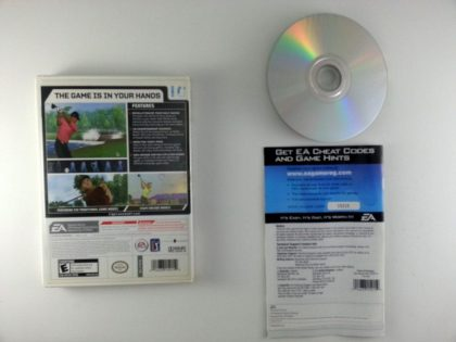 Tiger Woods 2007 game for Wii (Complete)   The Game Guy