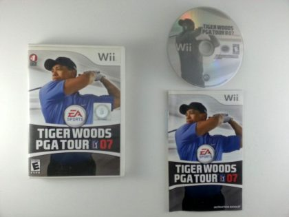 Tiger Woods 2007 game for Nintendo Wii -Complete