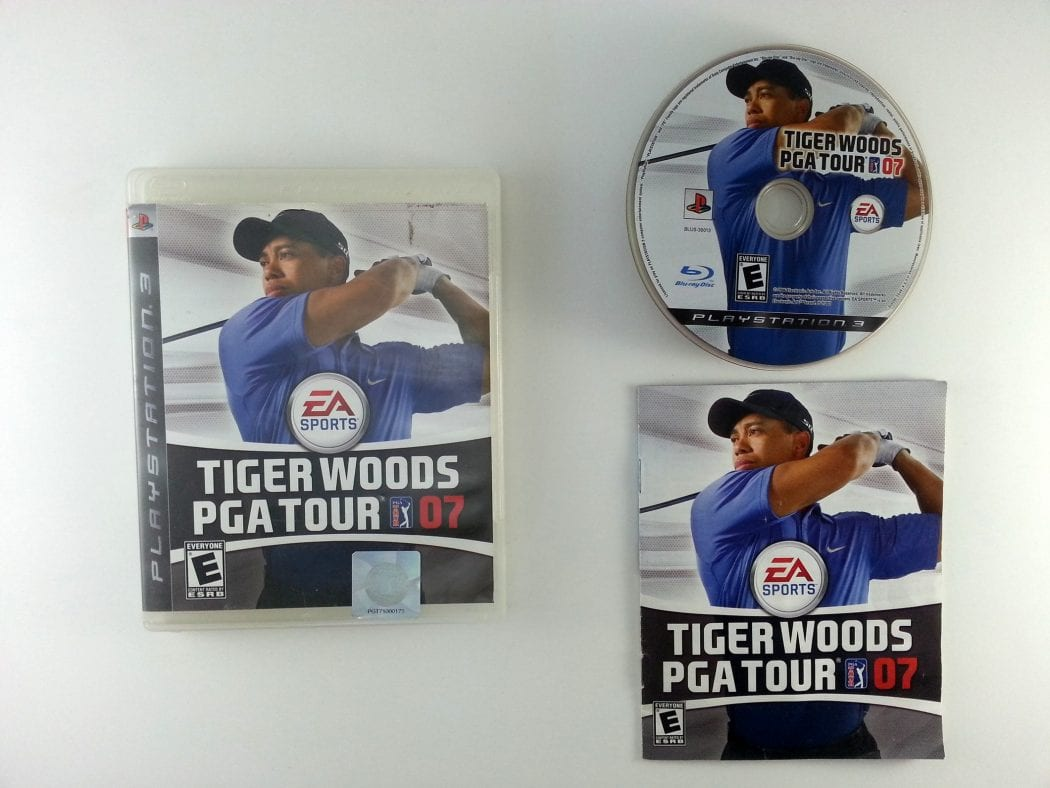Tiger Woods PGA Tour 13 Masters Collectors Edition game for PS3 Complete