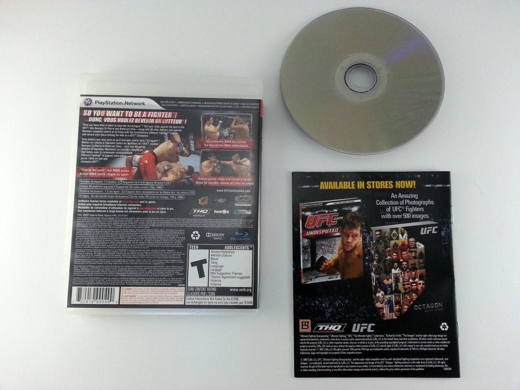 UFC 2009 Undisputed game for Playstation 3 (Complete)   The Game Guy