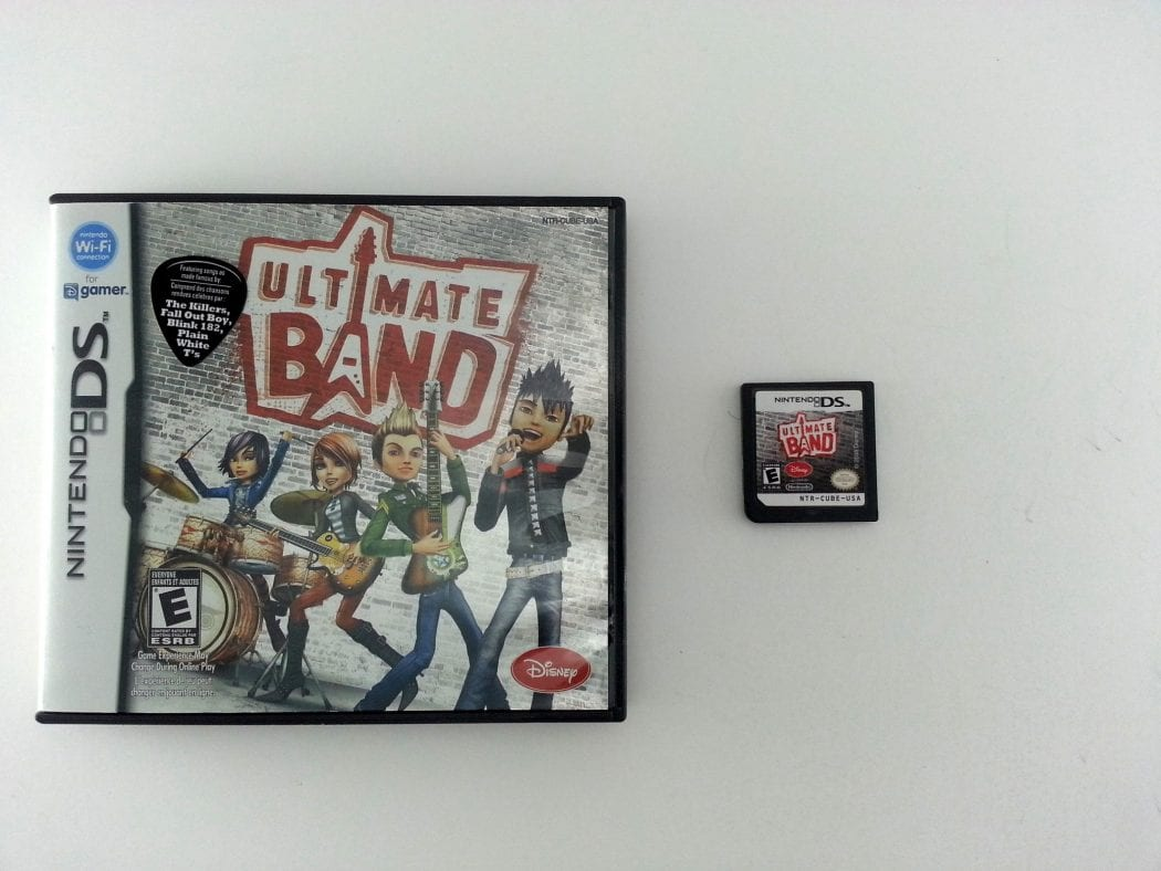 Ultimate Band game for Nintendo DS -Game & Case