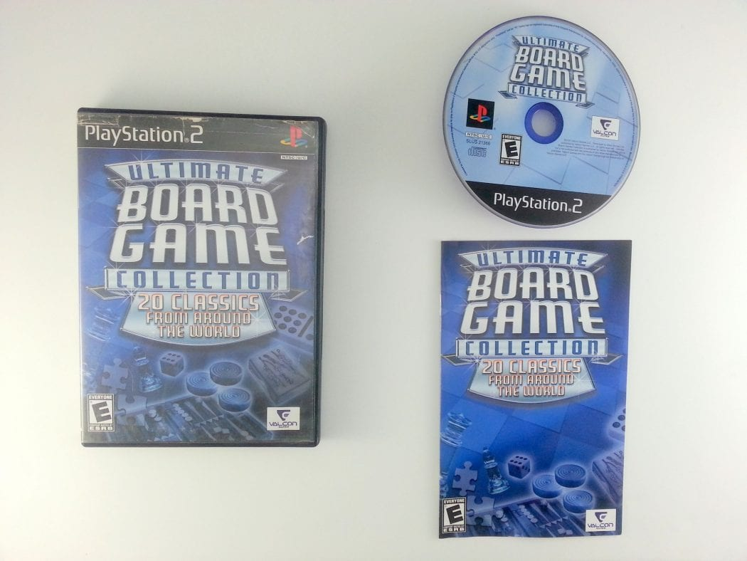 Ultimate Board Game Collection game for Sony Playstation 2 PS2 -Complete