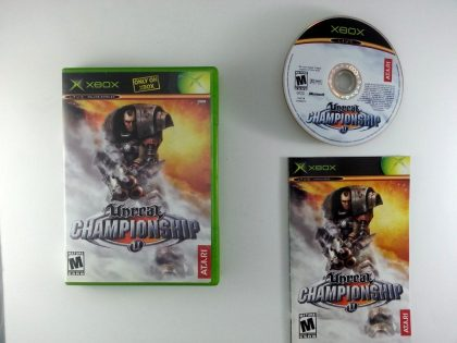 Unreal Championship game for Microsoft Xbox -Complete