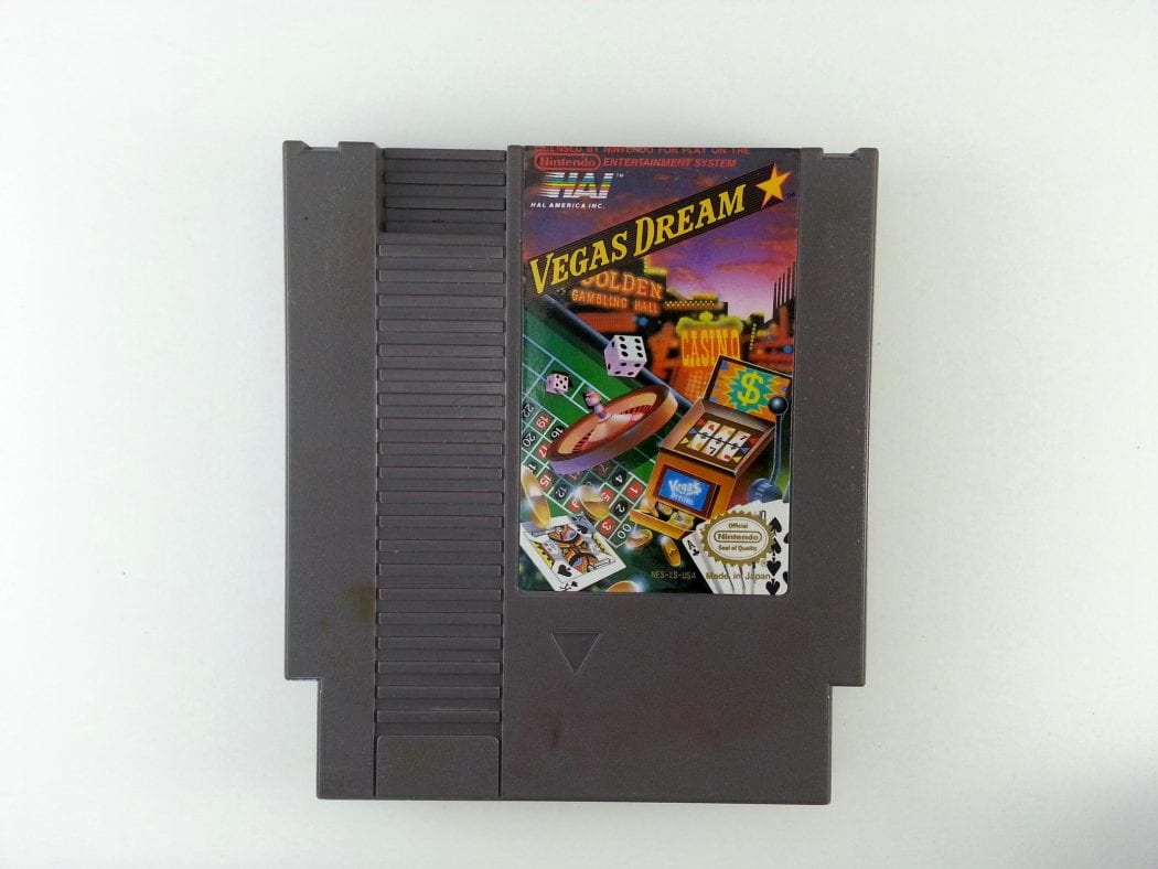 Vegas Dream game for Nintendo NES - Loose