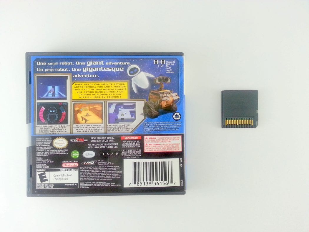 Wall-E game for Nintendo DS   The Game Guy