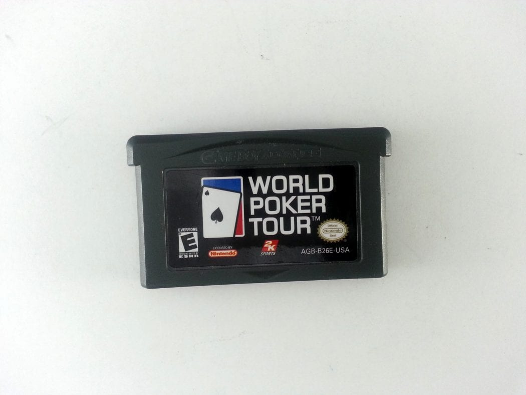 World Poker Tour game for Nintendo Gameboy Advance - Loose