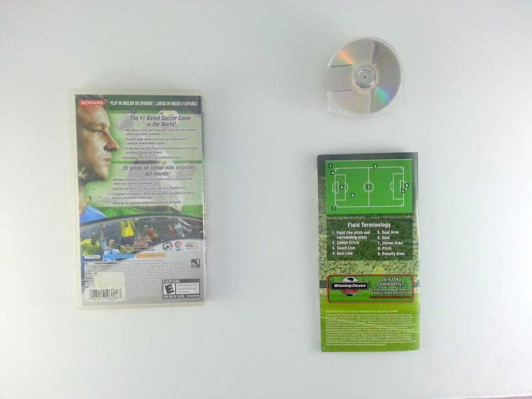 World Soccer Winning Eleven 9 game for PSP (Complete)   The Game Guy