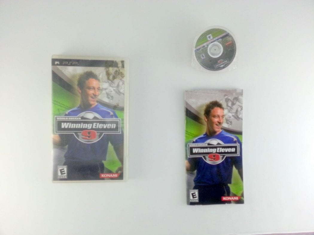 World Soccer Winning Eleven 9 game for Sony PSP -Complete