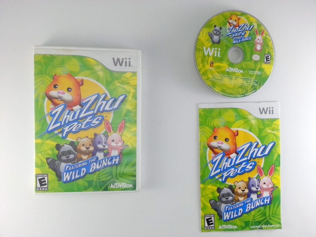 Zhu Zhu Pets 2: Featuring The Wild Bunch game for Nintendo Wii -Complete