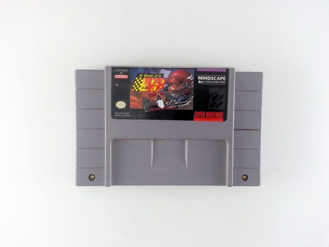 Al Unser Jr.'s Road To The Top game for Super Nintendo SNES - Loose