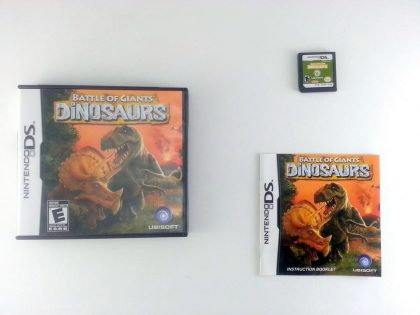 Battle of Giants: Dinosaurs game for Nintendo DS -Complete