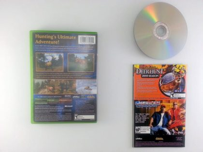Cabela's Big Game Hunter 2005 Adventures game for Xbox (Complete) | The Game Guy