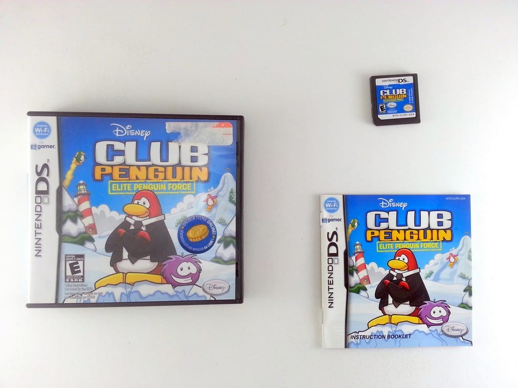 ?Club Penguin: Elite Penguin Force game for Nintendo DS -Complete