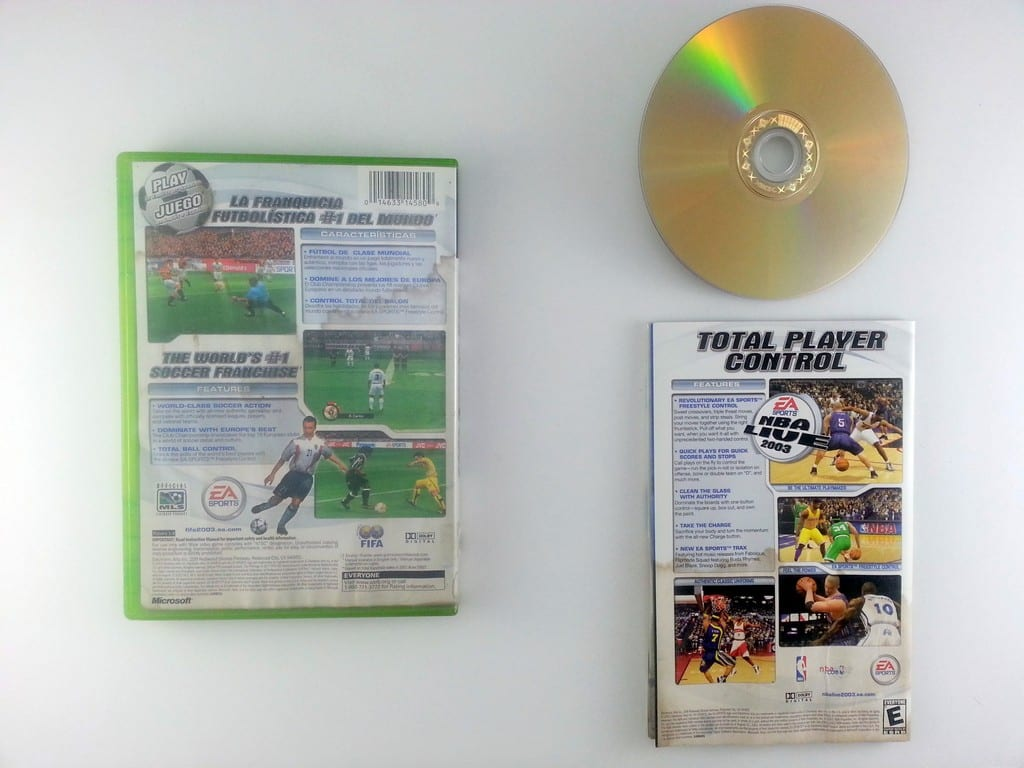 FIFA 2003 game for Xbox (Complete)   The Game Guy