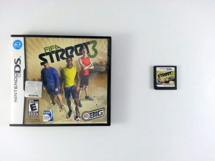 FIFA Street 3 game for Nintendo DS -Game & Case