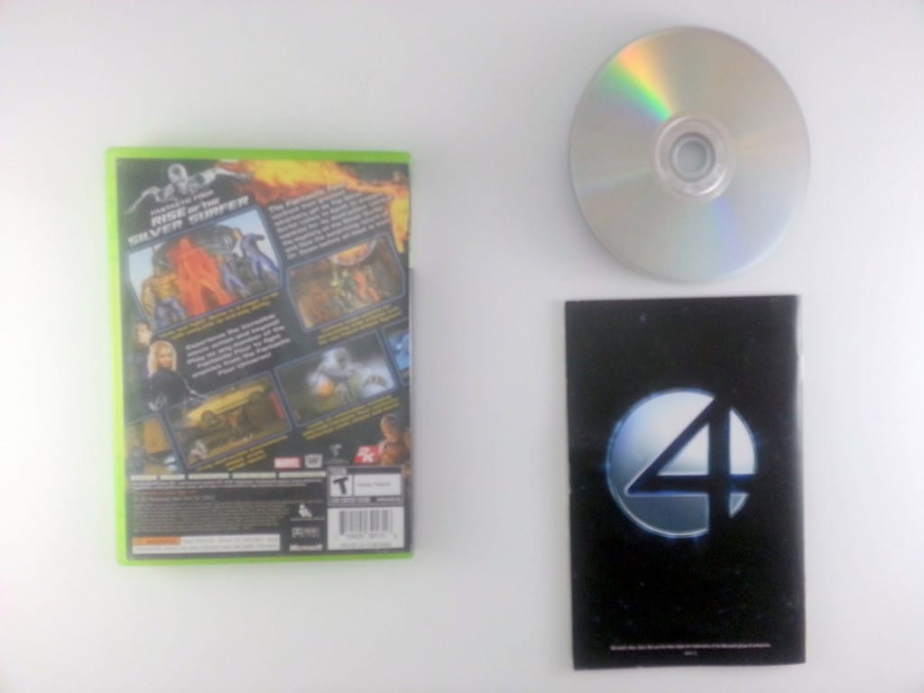 Fantastic 4 Rise of the Silver Surfer game for Xbox 360 (Complete) | The Game Guy