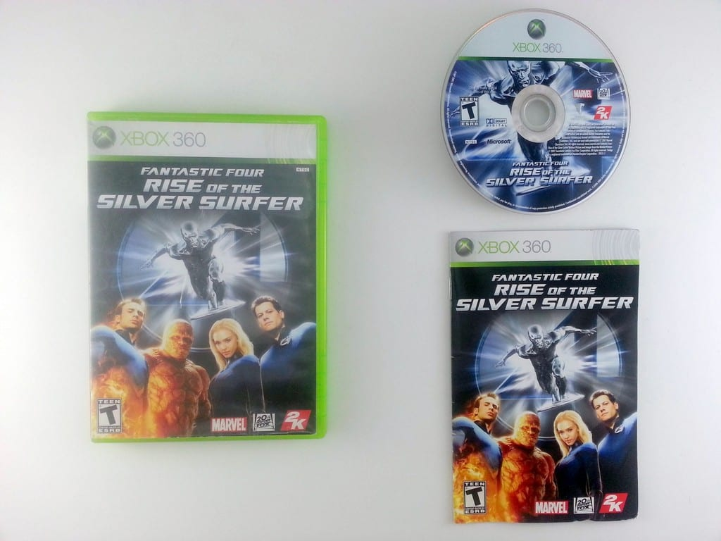 Fantastic 4 Rise of the Silver Surfer game for Microsoft Xbox 360 -Complete