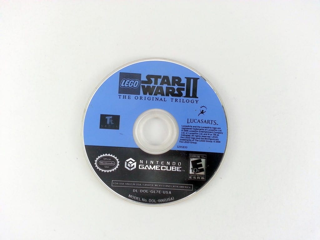 LEGO Star Wars II Original Trilogy game for Nintendo Gamecube - Loose