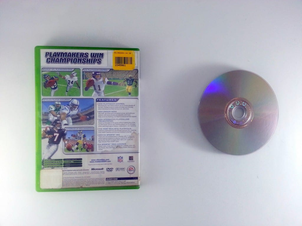 Madden 2004 game for Xbox | The Game Guy