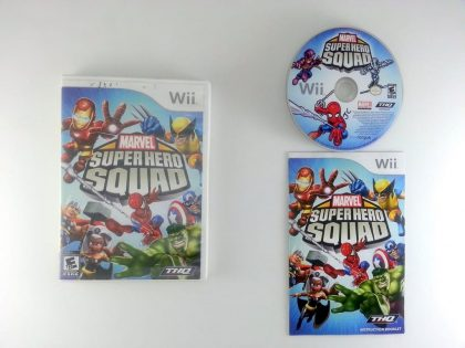 Marvel Super Hero Squad game for Nintendo Wii -Complete