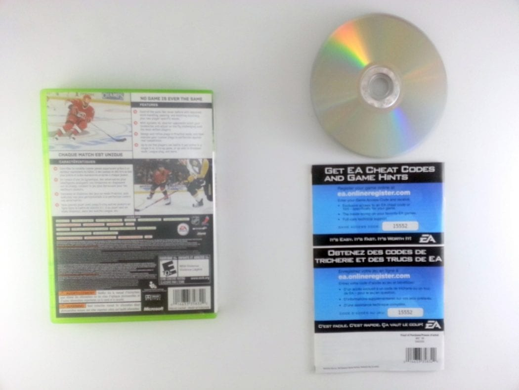 NHL 08 game for Xbox 360 (Complete)   The Game Guy