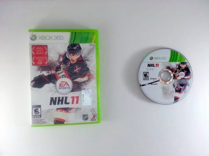 NHL 11 game for Microsoft Xbox 360 -Game & Case
