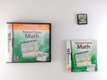 Personal Trainer Math game for Nintendo DS -Complete