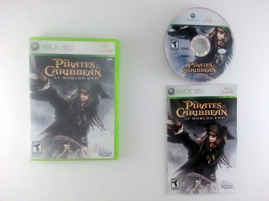 Pirates of the Caribbean At World's End game for Microsoft Xbox 360 -Complete