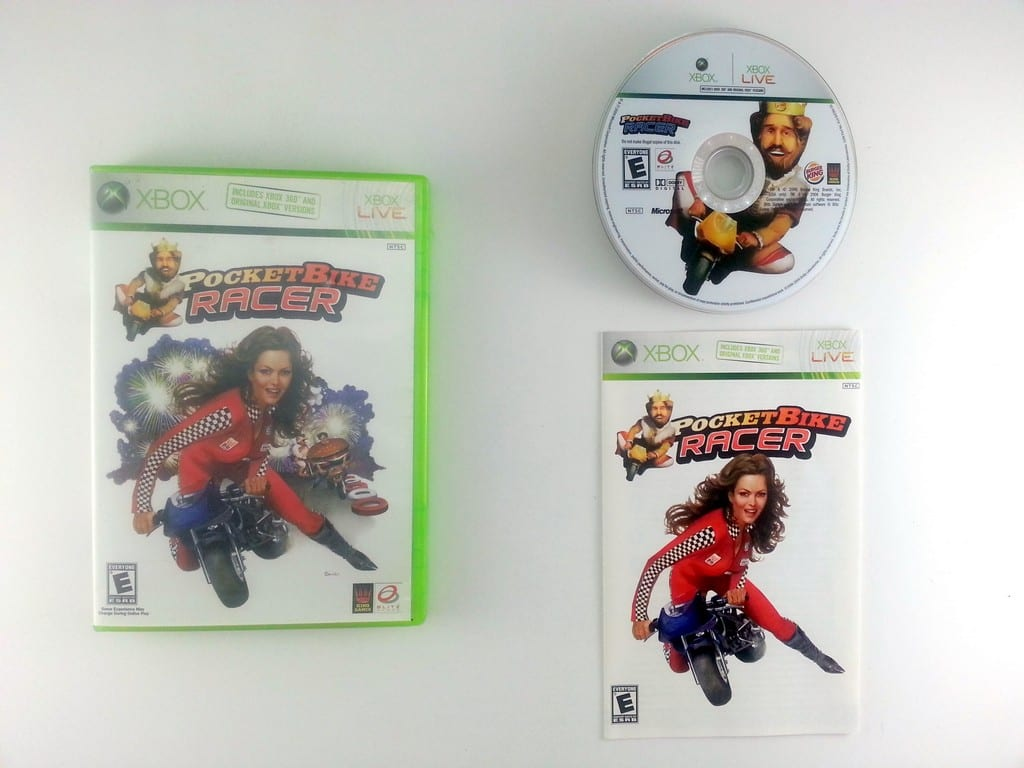 Pocketbike Racer game for Microsoft Xbox 360 -Complete