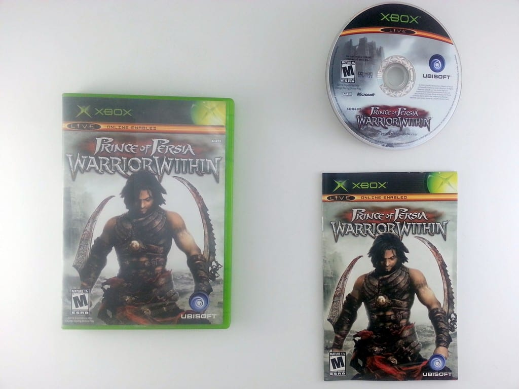 Prince of Persia Warrior Within game for Microsoft Xbox -Complete