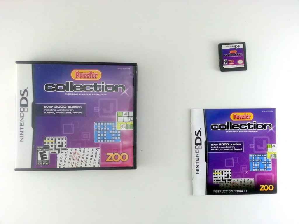 Puzzler Collection game for Nintendo DS -Complete