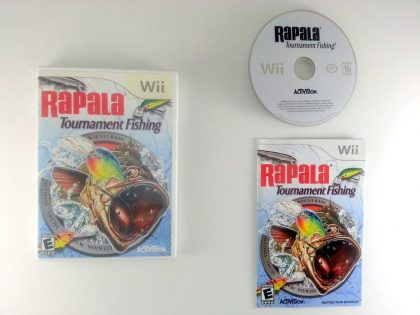 Rapala Tournament Fishing game for Nintendo Wii -Complete
