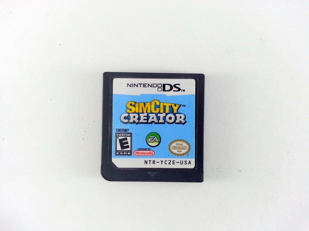 SimCity Creator game for Nintendo DS (Loose) | The Game Guy
